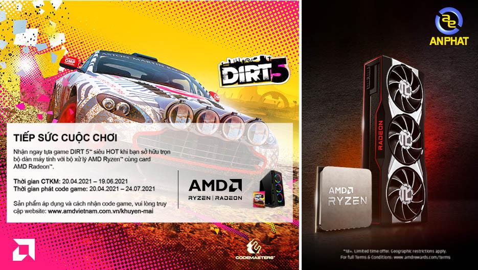 AMD - Tiếp sức cuộc chơi