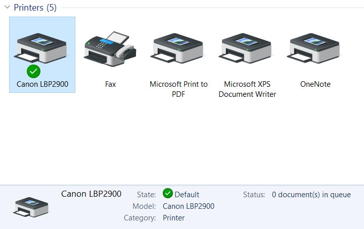 Thiết Lập Cấu Hình Máy In Canon Laser Shot LBP 2900 - ANPHATPC.COM.VN
