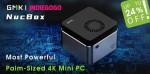 GMK ra mắt Mini PC 4K siêu nhỏ đặt vừa lòng bàn tay giá chỉ khoảng 3,5 triệu đồng