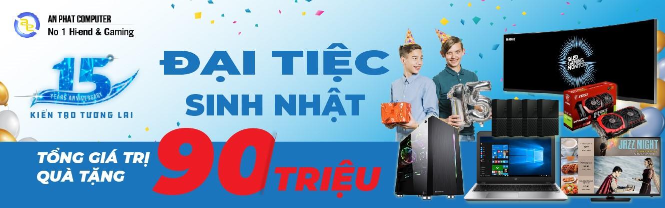 An Phát tặng quà đến 60.000.000đ cho khách hàng build PC