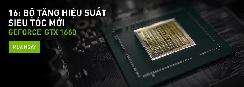 NVIDIA vừa ra mắt – GeForce GTX 1660