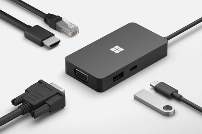 Microsoft công bố Surface Dock 2 với 4 cổng USB-C