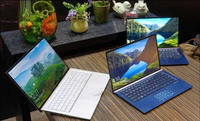 Asus ra mắt series Laptop Zenbook mỏng nhẹ, nhỏ gọn nhất thế giới