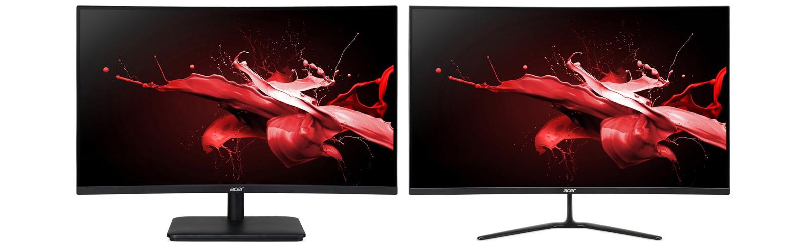 Acer trình làng 3 màn hình Gaming 165Hz, VG271US, ED320QRP, ED270RP