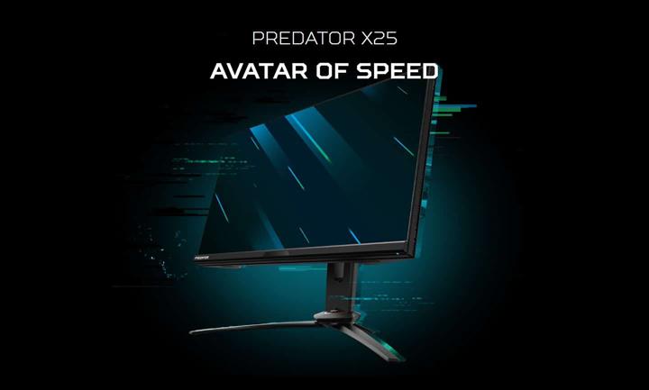 Acer ra mắt màn hình Predator X25 24 inch, tốc độ làm mới 360Hz