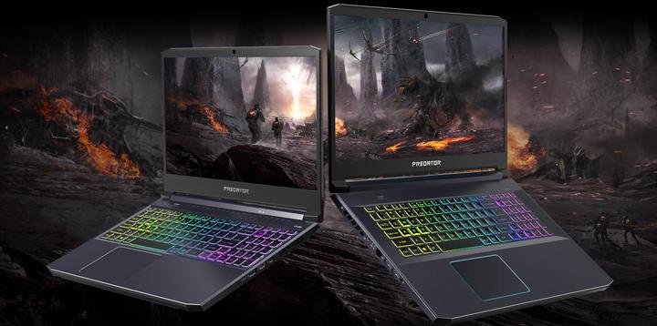 Acer nâng cấp cho dòng  Laptop Gaming hàng đầu của mình với Predator Helios 700, Predator Helios 300, Predator Triton 300 và Nitro 7