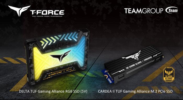 TeamGroup hợp tác cùng ASUS TUF Gaming Alliance cho ra mắt sản phẩm SSD RGB cực đẹp
