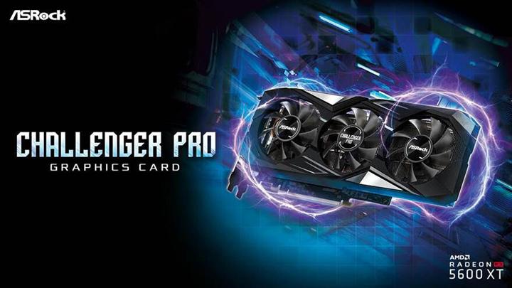 ASRock ra mắt Card đồ họa Radeon RX 5600 XT Challenger Pro 6G OC mới với tản nhiệt cực khủng