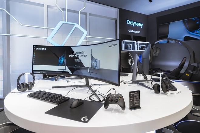 Samsung ra mắt màn hình Gaming cao cấp Odyssey G7 và G9 tại Việt Nam