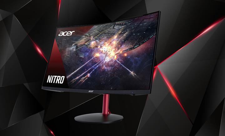 Acer ra mắt Series màn hình cong Nitro XZ2, 165Hz giá chỉ từ 4,5 triệu đồng