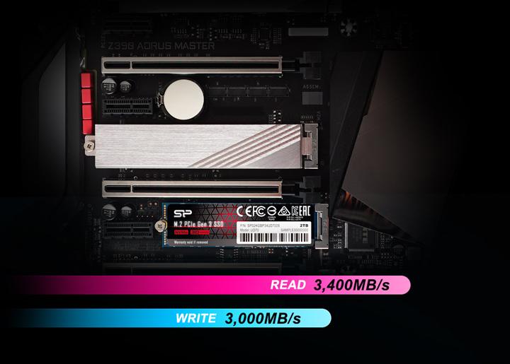 Silicon Power ra mắt SSD UD70 NVMe với công nghệ lưu trữ 3D QLC NAND, tốc độ đọc/ ghi lên tới 3400MB/s