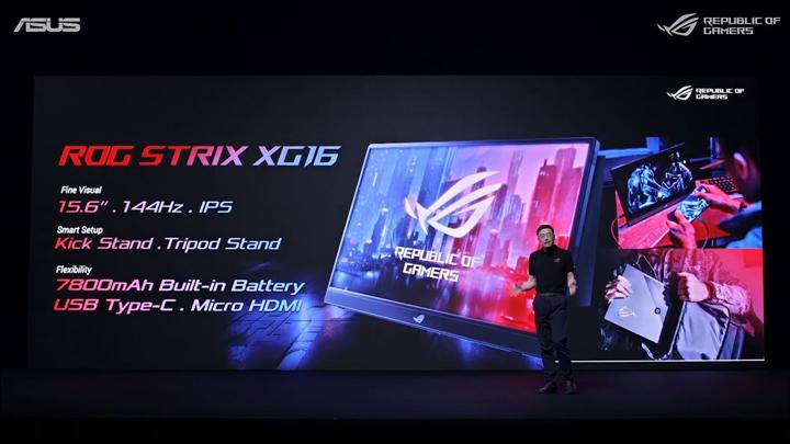 Asus ROG ra mắt dải sản phẩm phím chơi game ROG Falchion, tai nghe chơi game ROG Cetra RGB và màn hình chơi game ROG Strix XG16