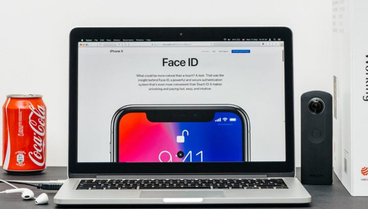 FaceID sẽ sớm được trang bị trên Macbook