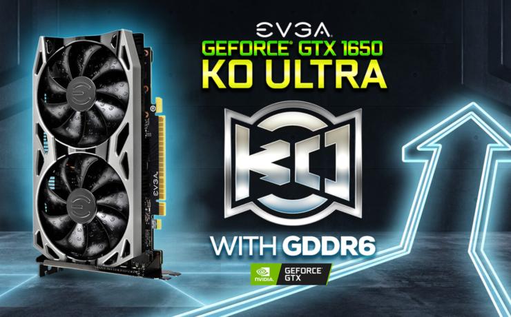 EVGA ra mắt VGA GeForce GTX 1650 KO Ultra DDR6, giá chỉ khoảng 3,5 triệu đồng