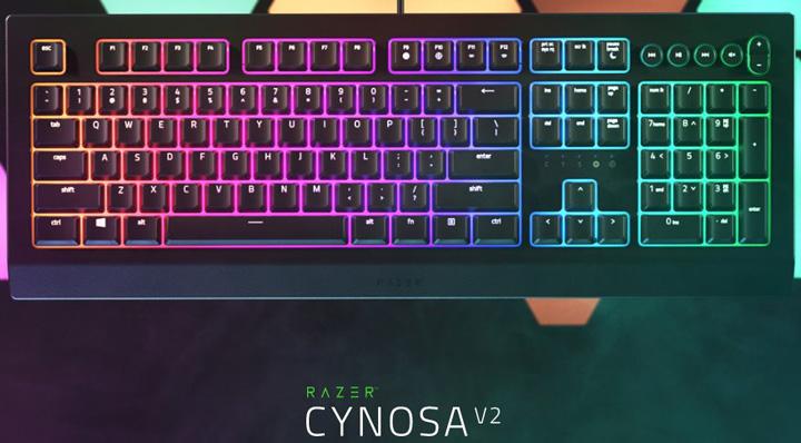 Razer trình làng bàn phím Cynosa V2 giá chỉ khoảng 1,3 triệu đồng