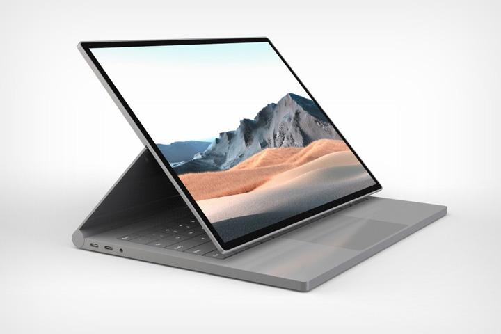 Xuất hiện thiết kế Microsoft Surface Book 4 với ngoại hình nhỏ gọn, bắt mắt, sang trọng