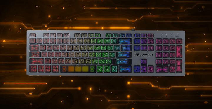 Cougar ra mắt bàn phím Gaming Vantar AX siêu mỏng 15mm, sử dụng swicth Scissor