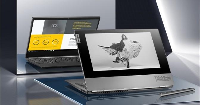 Lenovo ra mắt Laptop ThinkBook Plus 2 màn hình hiện đại, sang trọng giá 28,5 triệu đồng