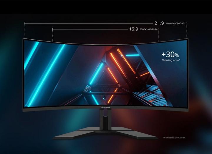 """GIGABYTE ra mắt màn hình gaming cao cấp siêu rộng 34"""" cong 1500R với dàn âm thanh nổi tích hợp"""