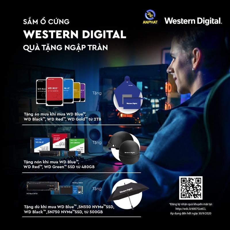 Sắm ổ cứng Western Digital quà tặng ngập tràn