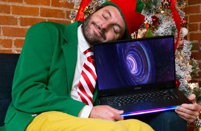 Laptop MSI là món quà lý tưởng cho gamer và sáng tạo nội dung dịp Lễ Giáng sinh