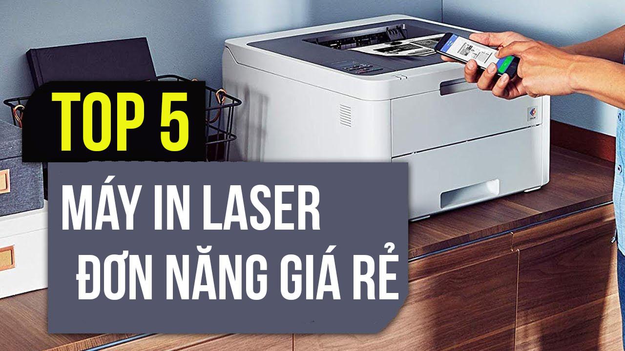 Top 5 máy in laser đơn năng giá rẻ có Wi-Fi dành cho gia đình và văn phòng nhỏ tại An Phát