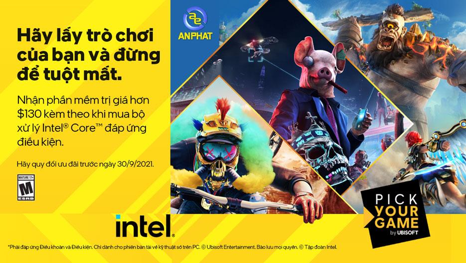 Tặng Code Game Khi Mua Các Sản Phẩm Intel i7/i9