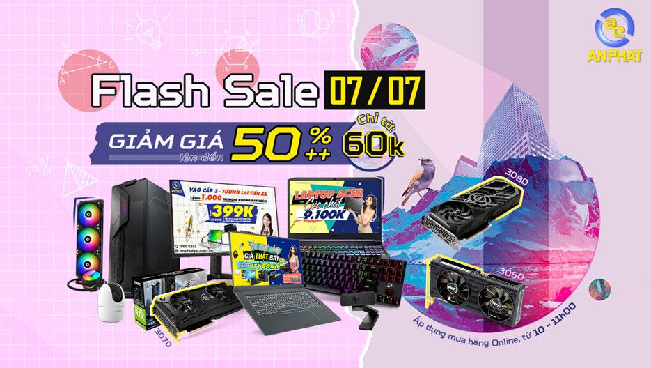 Flash Sale 07/07 - Giảm giá lên đến 50%