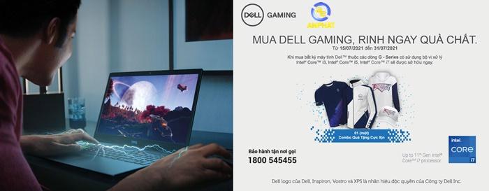 Mua Dell đẳng cấp, nhận ngay quà chất