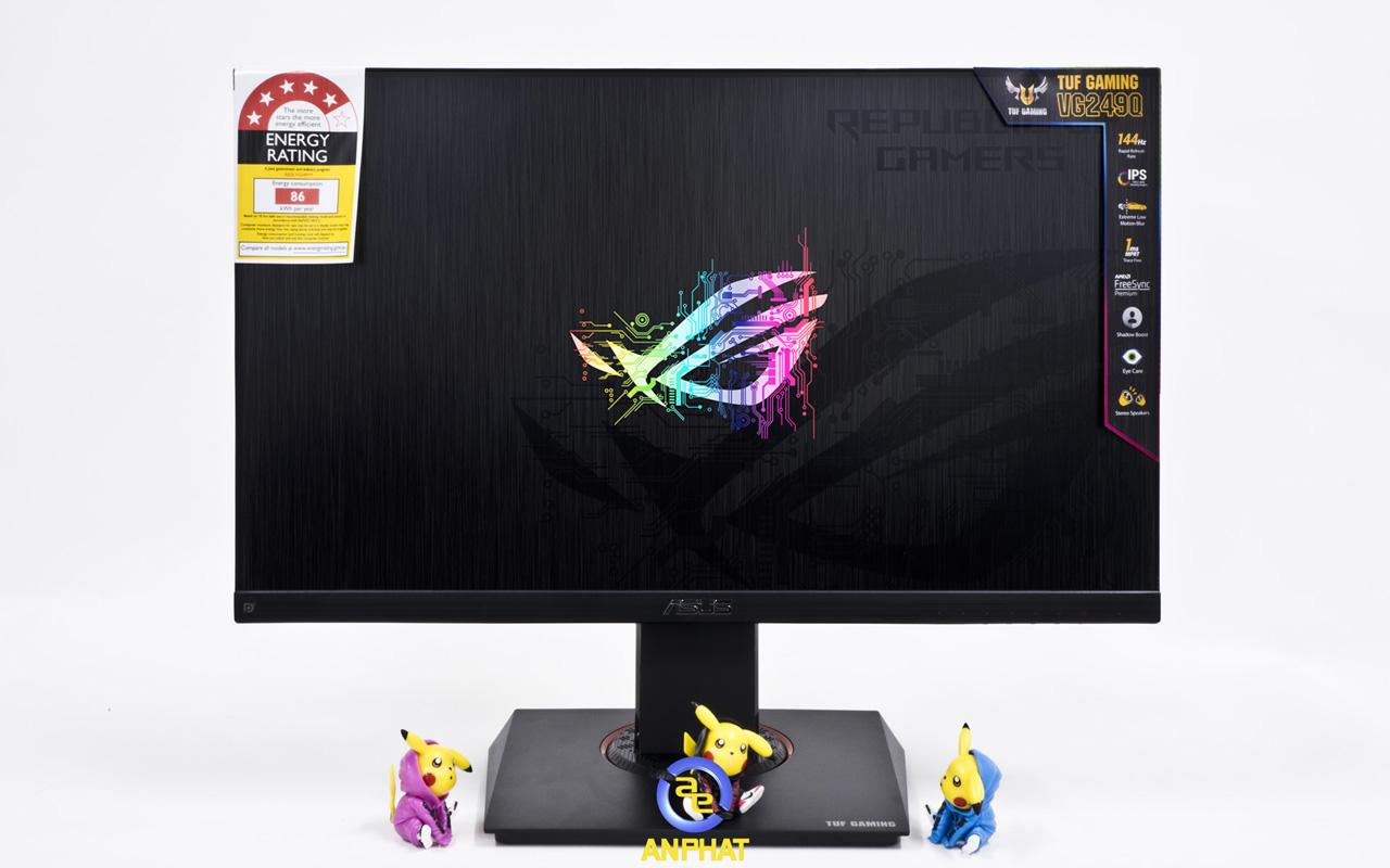ASUS TUF VG249Q Tân Vương IPS? Tần Số 144Hz? Đây Là Màn Gaming Giá Mềm $250?