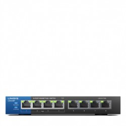 Linksys LGS108P 8-Port Business Desktop Gigabit POE + Switch