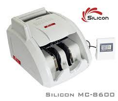 Máy đếm tiền thông minh Silicon MC-8600 - Phát hiện tiều siêu giả