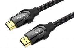 Cáp HDMI tròn 2 đầu hợp kim Vention VAA-B05-B300 3m