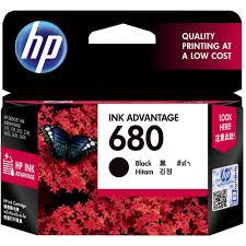 Mực hộp máy in phun HP 680 Black dùng cho máy HP DJ 3635, 5075, 2135, 3836, 4535
