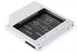 Caddy bay cho Laptop ORICO L95SS lắp cho máy có khay CD 9.5mm