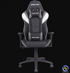 Ghế game ANDA SEAT Assassin Black White (v2 chân kim loại)