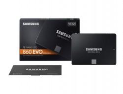 "Ổ cứng SSD Samsung 860 EVO 500GB 2.5"" SATA III (MZ-76E500BW)"
