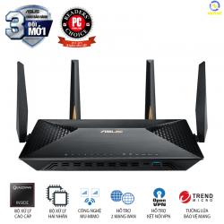 Router Wifi ASUS BRT-AC828 (Chuẩn Doanh Nghiệp) AC2600 MU-MIMO, tích hợp 2 cổng WAN VPN