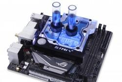 Linh kiện tản nhiệt nước - MONO BLOCK CPU EK-FB ASUS Z270I/Z370I Strix RGB Monoblock - Nickel