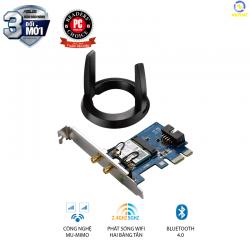 Card mạng không dây Asus PCE-AC55BT AC1200 hai băng tần Bluetooth 4.0 PCI-E