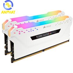 Ram Corsair Vengeance RGB Pro 16GB (2x8GB) DDR4 3000MHz White