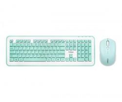 Bộ bàn phím chuột không dây Fuhlen MK880-Green