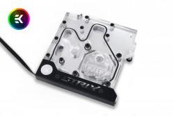 Linh kiện tản nhiệt nước - BLOCK MONO CPU EK-FB ASUS Z270/Z370 Strix RGB