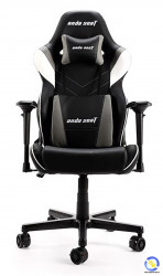 Ghế game ANDA SEAT Assassin King Series Black White (V2 Tay 4D + Gối To)