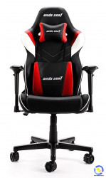 Ghế game ANDA SEAT Assassin King Series Black Red (V2 Tay 4D + Gối To)