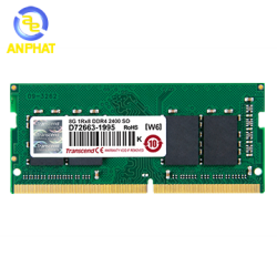Ram Laptop Transcend 8GB DDR4 2400MHz SO-DIMM (JM2400HSB-8G)