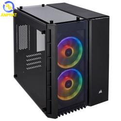 Vỏ case Corsair Crystal Series 280X RGB Black - Kính cường lực (CC-9011135-WW)
