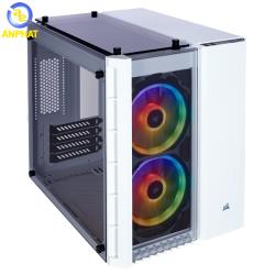 Vỏ case Corsair Crystal Series 280X RGB White - Kính cường lực (CC-9011137-WW)