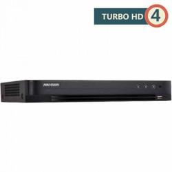 Đầu ghi hình Hikvision DS-7216HQHI-K2/P Turbo HD 4.0 16 kênh vỏ sắt H.265+ | PoC