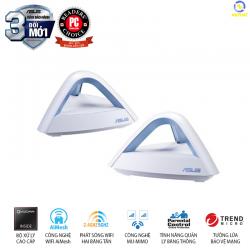 Router Wifi Băng Tần Kép Asus MAP-AC1750 (2-PK) anten 3x3 MU-MIMO, bảo vệ mạng AiProtection, quản lý thời gian truy cập, Mesh Wifi